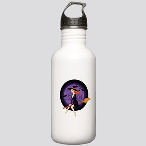 Red Headed Witch Stainless Water Bottle 1.0L