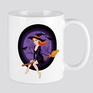 Red Headed Witch Mug
