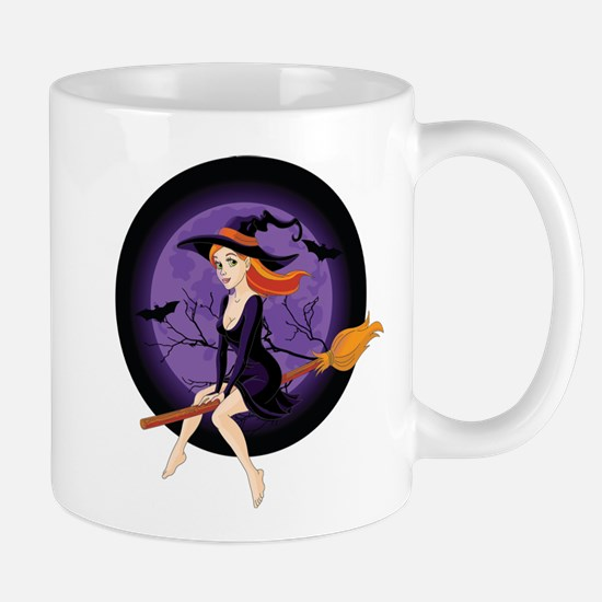 Red Headed Witch Mug