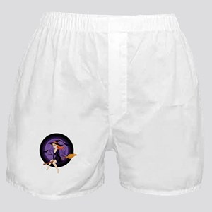 Red Headed Witch Boxer Shorts