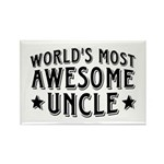 Awesome Uncle Rectangle Magnet