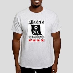 US NAVY VF-17 JOLLY ROGERS Ash Grey T-Shirt