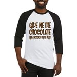 Give Me Chocolate Baseball Jersey