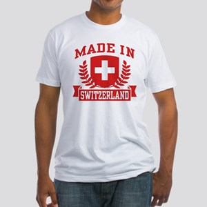 Made In Switzerland Fitted T-Shirt