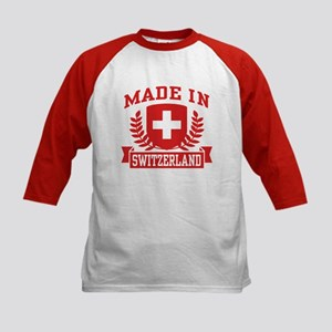 Made In Switzerland Kids Baseball Jersey