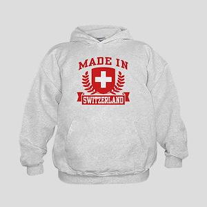 Made In Switzerland Kids Hoodie