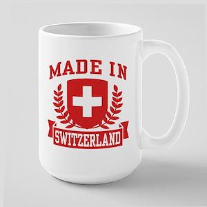 Made In Switzerland Large Mug