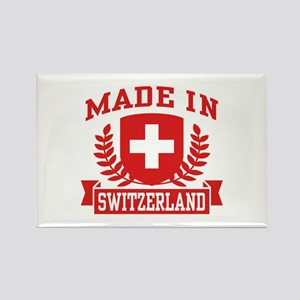 Made In Switzerland Rectangle Magnet