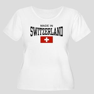 Made In Switzerland Women's Plus Size Scoop Neck T