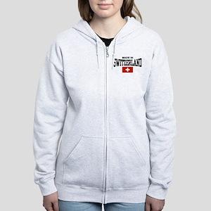Made In Switzerland Women's Zip Hoodie