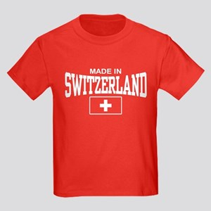 Made In Switzerland Kids Dark T-Shirt