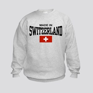 Made In Switzerland Kids Sweatshirt