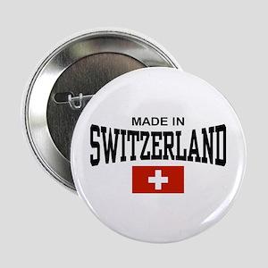 """Made In Switzerland 2.25"""" Button"""