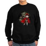 Little Red Capuccine Sweatshirt (dark)