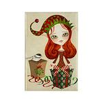 Jollybelle Christmas Elf Rectangle Magnet -10 pack