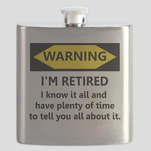 Warning, I'm Retired Flask