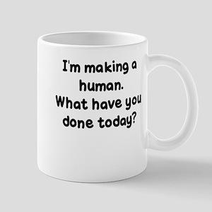 Making a Human Mugs