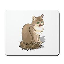 Ragdoll Cat Portrait Mousepad