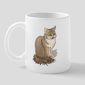 Ragdoll Cat Portrait Mug