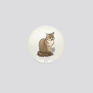 Ragdoll Cat Portrait Mini Button