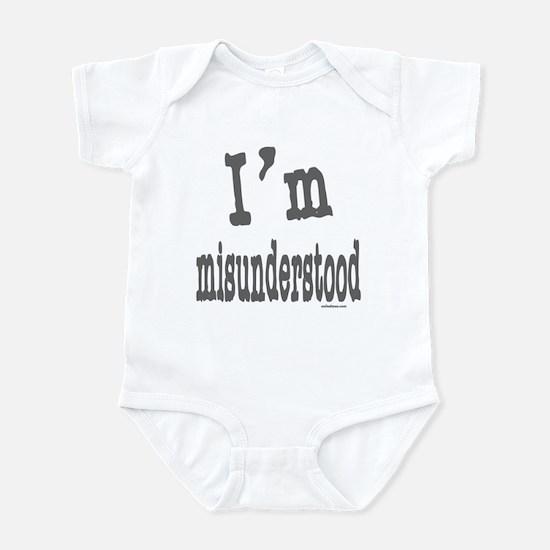 I'M MISUNDERSTOOD Infant Bodysuit