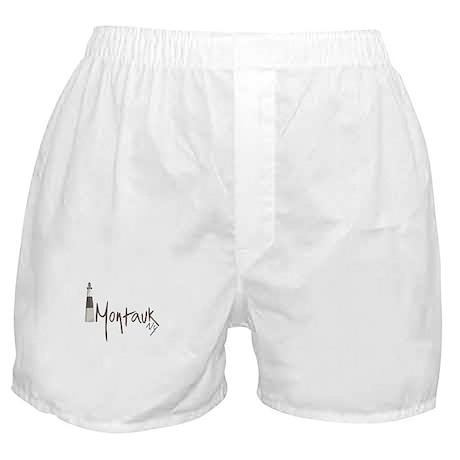 Classic Grey Montauk Boxer Shorts