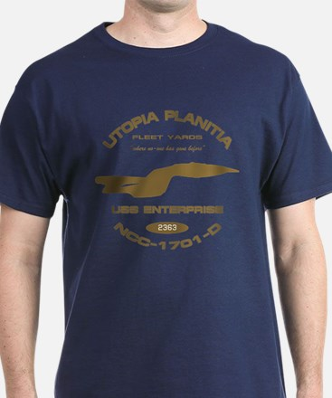 Enterprise-D Fleet Yards T-Shirt