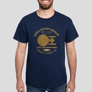 Enterprise-C Fleet Yards Dark T-Shirt