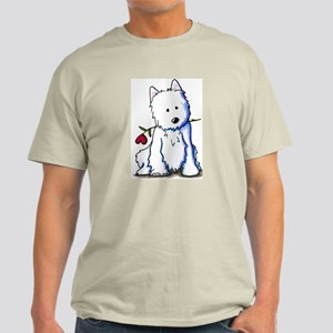 Westie Love Bucket Light T-Shirt
