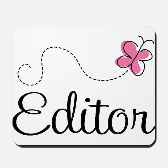 Cute Editor Mousepad