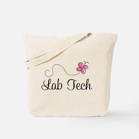 Cute Lab Tech Tote Bag