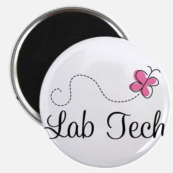 Cute Lab Tech Magnet