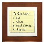 To-Do List Framed Tile