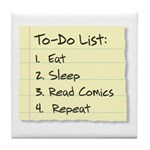 To-Do List Tile Coaster