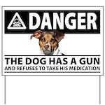 Danger: The Dog Has a Gun
