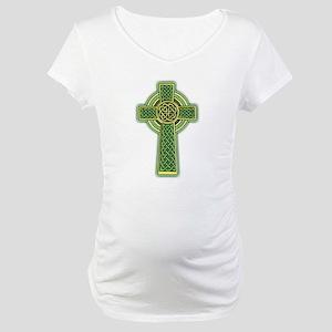 Celtic Cross Maternity T-Shirt