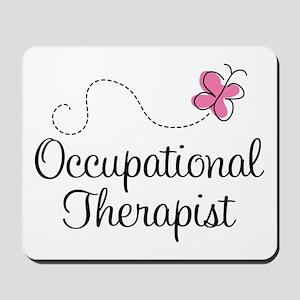 Cute Occupational Therapist Mousepad