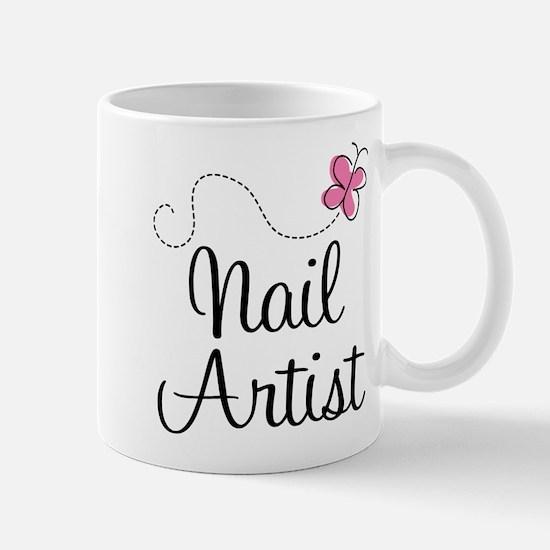 Cute Nail artist Mug