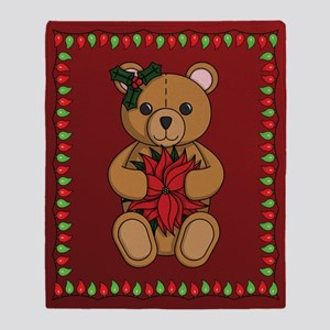 Teddy's Gift Throw Blanket
