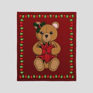 Teddy's Gift Throw Blanket