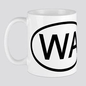 Washington - WA - US Oval Mug