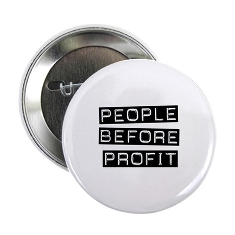 People Before Profit Button