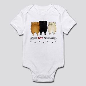 Nothing Butt Pomeranians Infant Bodysuit