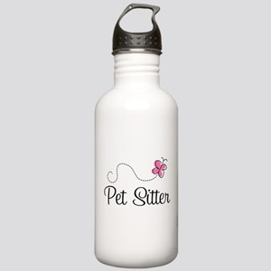 Cute Pet Sitter Stainless Water Bottle 1.0L