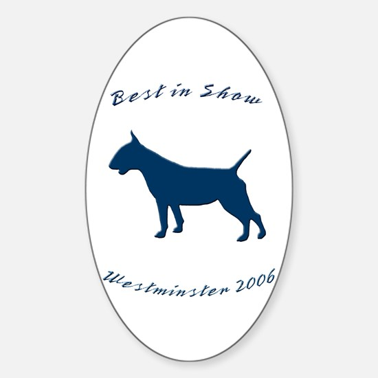 Best in Show Oval Decal