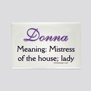 Personalized Name Meanings Rectangle Magnet