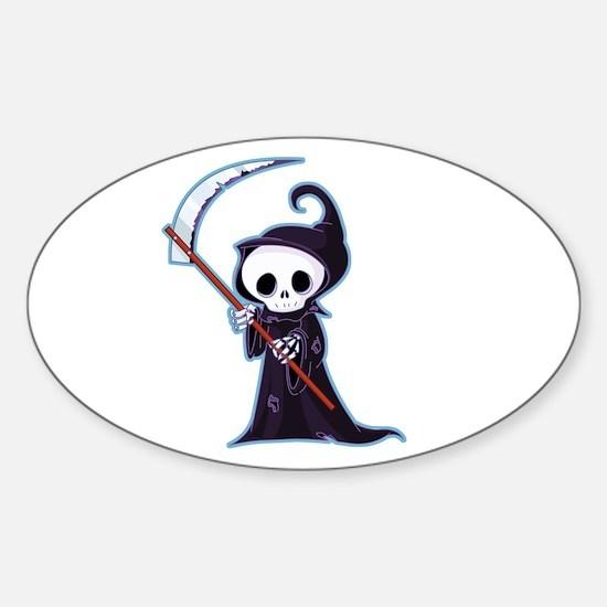 Sweet Little Death Sticker (Oval)