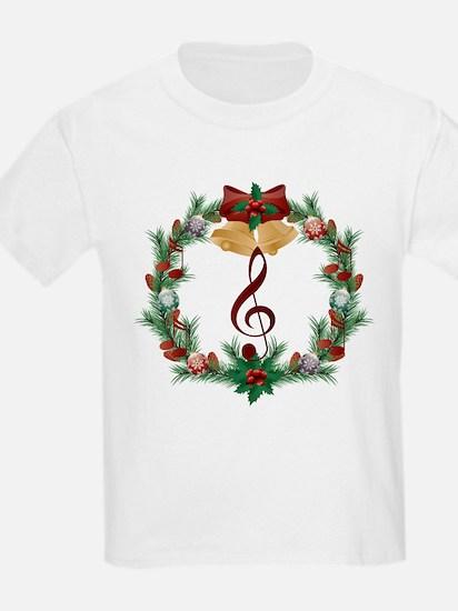 Treble Christmas Music T-Shirt