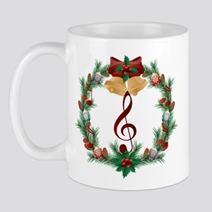 Treble Christmas Music Mug