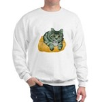 Tabby Cat Drawing Sweatshirt